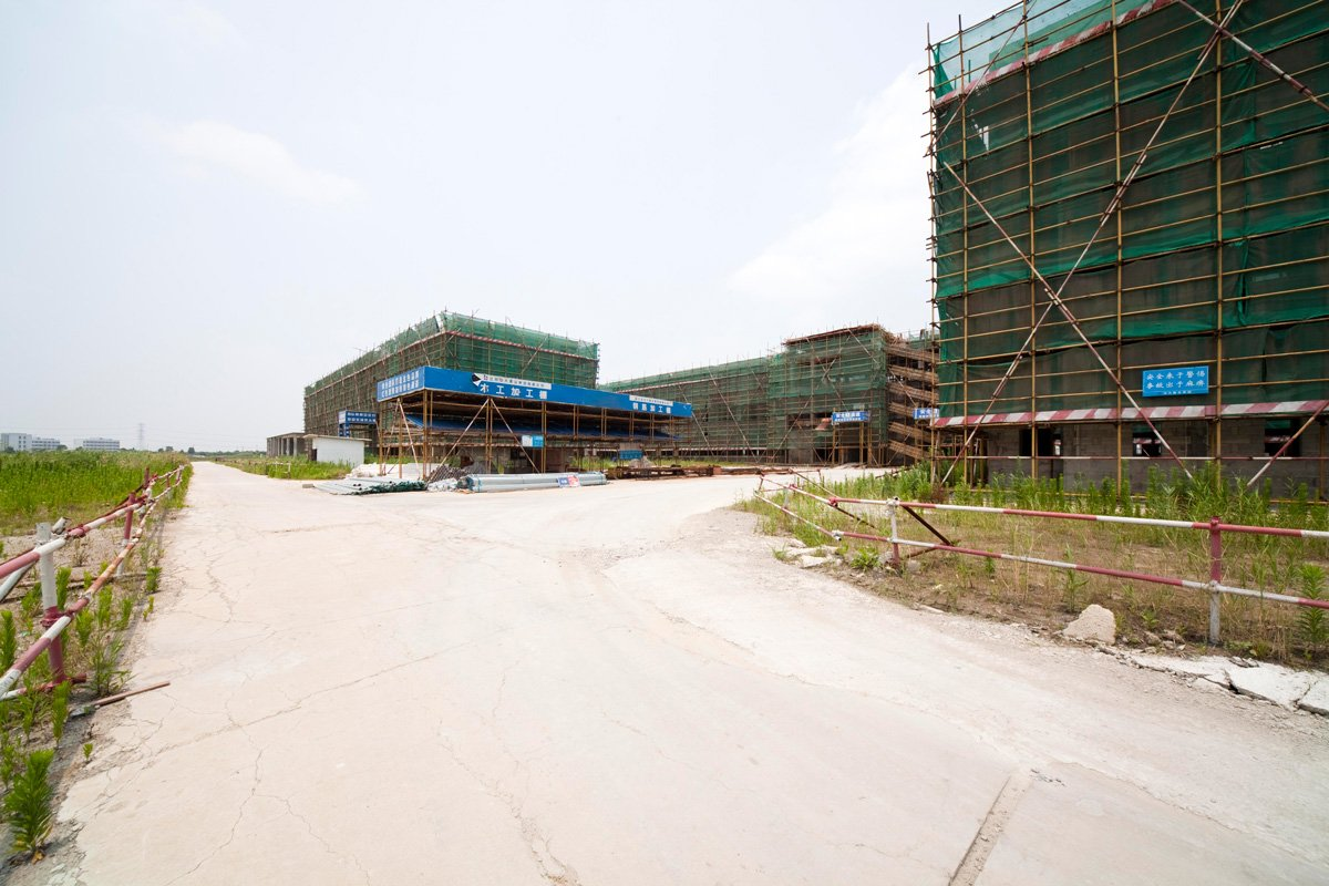 Duke Kunshan University construction-4