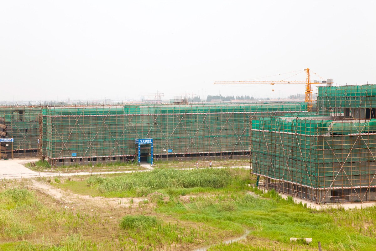 Duke Kunshan University construction-5