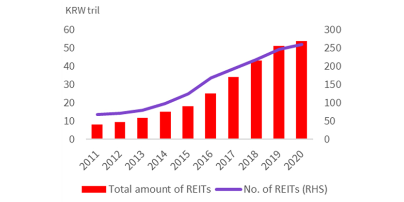 Total Asset Value of REIT