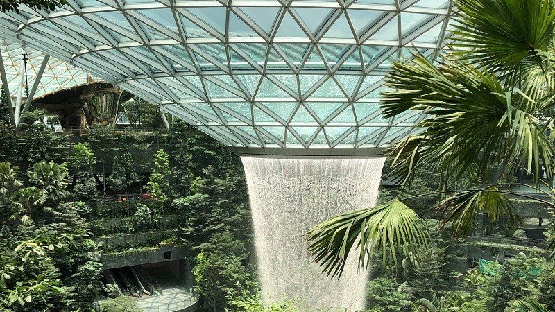 Can Singapore's mega mall Jewel Changi Airport redefine the retail experience?