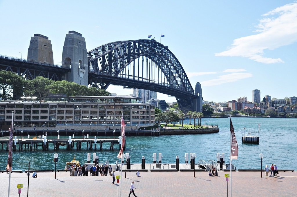 Harbour Bridge, Sydney; Shutterstock ID 390934117
